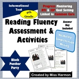 Literacy Activity Sheets for 4th Grade, Black Panther Party