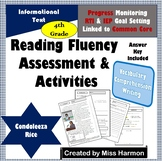 Literacy Activity Sheets for 4th Grade, Condoleeza Rice