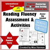 Literacy Activity Sheets for 5th Grade, Black Panther Party