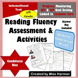 Literacy Activity Sheets for 5th Grade, Condoleeza Rice