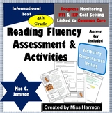 Literacy Activity Sheets for 4th Grade, Mae C. Jemison