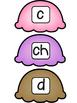 Literacy Activity- Word Building With Ice Cream