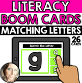 Literacy - Alphabet: Matching Letters (Lowercase Letters)
