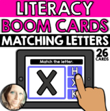 Literacy - Alphabet: Matching Letters (Uppercase Letters)