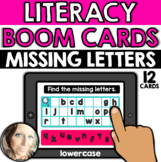 Literacy - Alphabet: Missing Letters (Lowercase Letters)