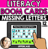 Literacy - Alphabet: Missing Letters (Uppercase Letters)