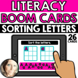 Literacy - Alphabet: Sorting Letters (Uppercase/Lowercase)