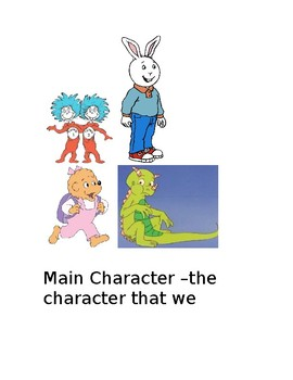 Literacy Anchor Chart