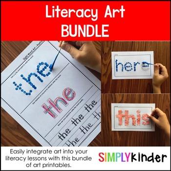 Literacy Art Bundle