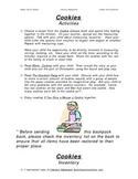 Literacy Backpack - Cookies