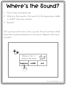 Literacy Bags for 1st Grade: Reading Foundational Skills {10 Literacy Centers}