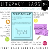1st Grade Reading Foundations Literacy Bags: Reading Centers for RF Skills