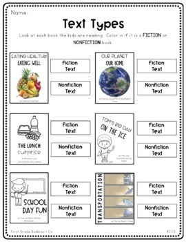 Literacy Bags for 1st Grade: To-Go {40 Printable, No Prep CC Literacy Centers}