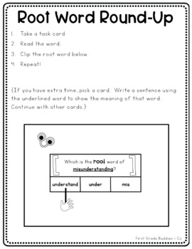 Literacy Bags for 2nd Grade: Reading Foundational Skills {10 Literacy Centers}
