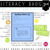 2nd Grade Reading Foundations Literacy Bags: 10 Reading Centers for RF Skills