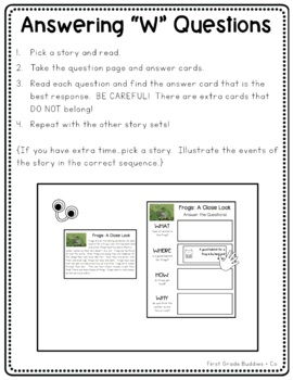 Literacy Bags for 2nd Grade: Reading Informational Text {10 Literacy Centers}