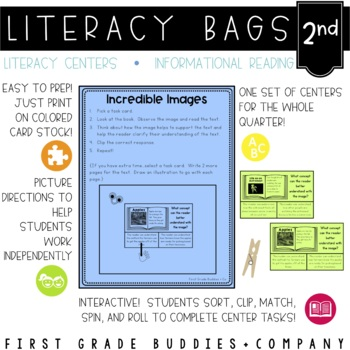 Literacy Bags for 2nd Grade: Reading Informational Text {1