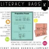 Kindergarten Language Literacy Bags: Reading Centers for Language Skills