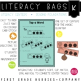 Kindergarten Reading Foundations Literacy Bags: Reading Centers for RF Skills