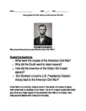 Literacy Based Unit Plan: Slavery and the American Civil War