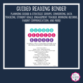 Literacy Binder Organization: Guided Reading, Strategic Re