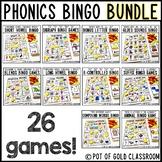 Phonics BINGO Game - BUNDLE