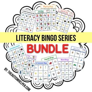 Literacy Bingo {BUNDLE}