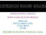 Literacy Board Game