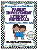 Literacy / Book Bag Materials - Kindergarten & First Grade - CCSS Alligned