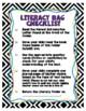 Literacy / Book Bag Materials - Kindergarten & First Grade