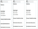 Literacy Bookmarks - 4 total