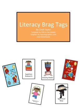 Literacy Brag Tags