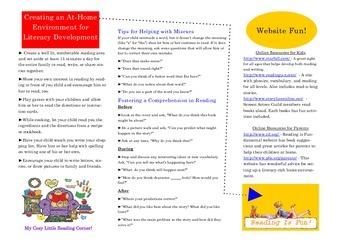 Literacy Brochure