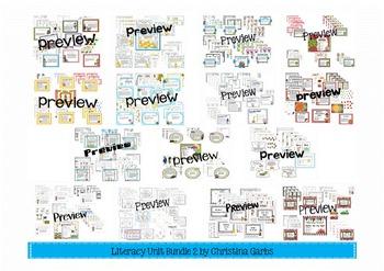 Literacy Activities Bundle 2 - Phonics & Comprehension Skills