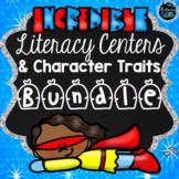 Literacy Bundle - Full Year, No Prep Activities, Task Cards & Games