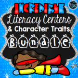 First Grade Literacy Centers | Character Traits Activities