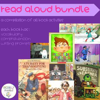Literacy Bundle: Read Aloud Activities