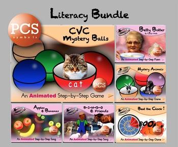 Literacy Bundle - Animated Step-by-Steps® - PCS