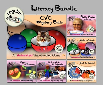Literacy Bundle - Animated Step-by-Steps® - Reg
