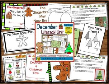 Literacy Bundle:  December, January & February
