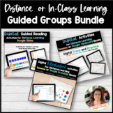 Digital Guided Reading Activities Bundle Google Seesaw Dis