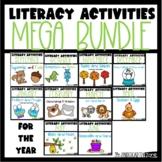Literacy Mega Bundle for the Year-PreK-Kindergarten