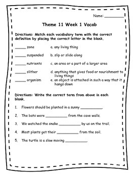 Literacy By Design Grade 4 Theme 11 and 12 Assessments