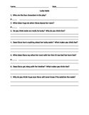 Literacy By Design - Guided Reading Questions for Lucky So