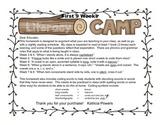 Literacy Camp First 9 Weeks