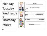 Literacy Center Accountability Sheet