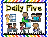 FREEBIE! Daily Five Classroom Posters