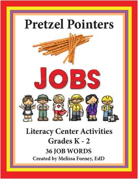 Literacy Center Activities JOB WORDS Grades K - 2