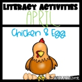 Literacy Center Activities for April Morning Bins