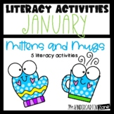 Literacy Center Activities for January